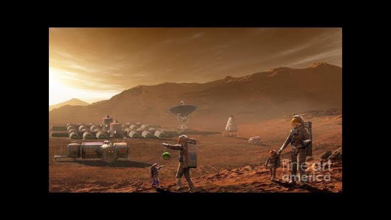 Колония на Марсе 2018