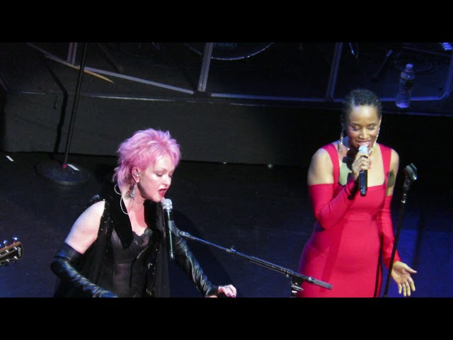 Cyndi Lauper and Vivian Greene True Colors Live @ The Beacon NYC 12.9.2017