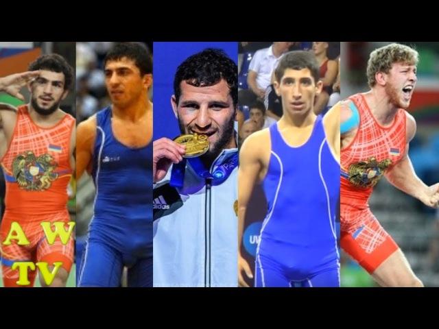 A W TV - Armenian Wrestler's Highlights ( Հայ ըմբիշներ ) 2