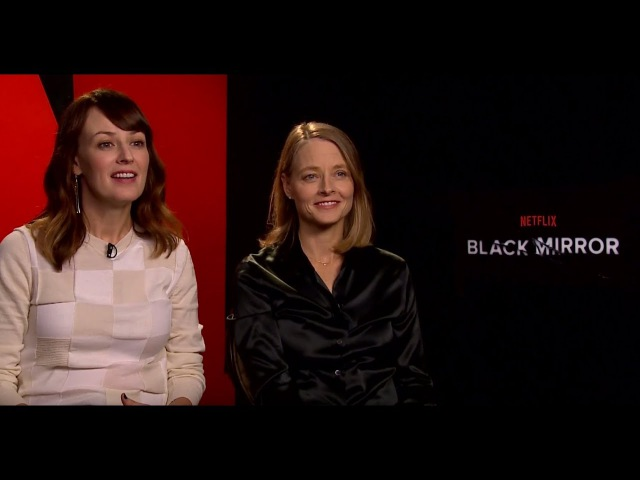 Jodie Foster Rosemarie DeWitt On BLACK MIRROR