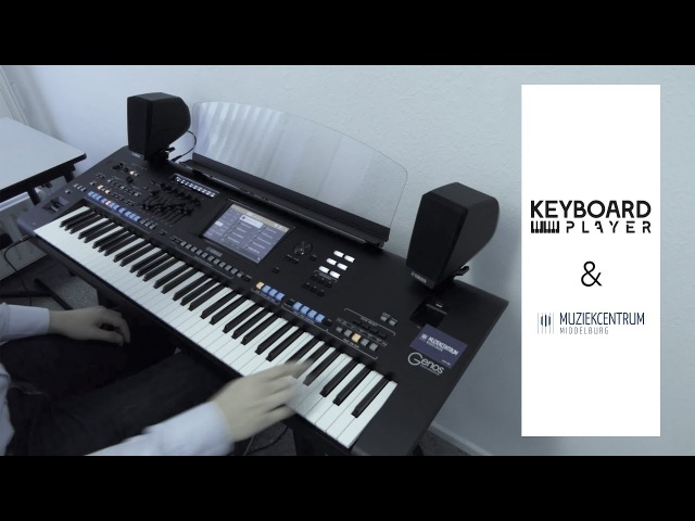 Yamaha Genos Live - Short 'just out-of-the-box' demo