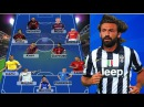 Andrea Pirlo's Dream Team All Time Best XI