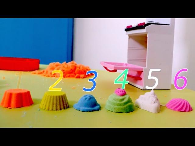 Çocuklar için - Kumdan kurabiyeler Renkler ancak bu kadar güzel tarif edilir