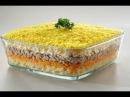 Салат Мимоза с сардиной в масле/Салат на Новый Год