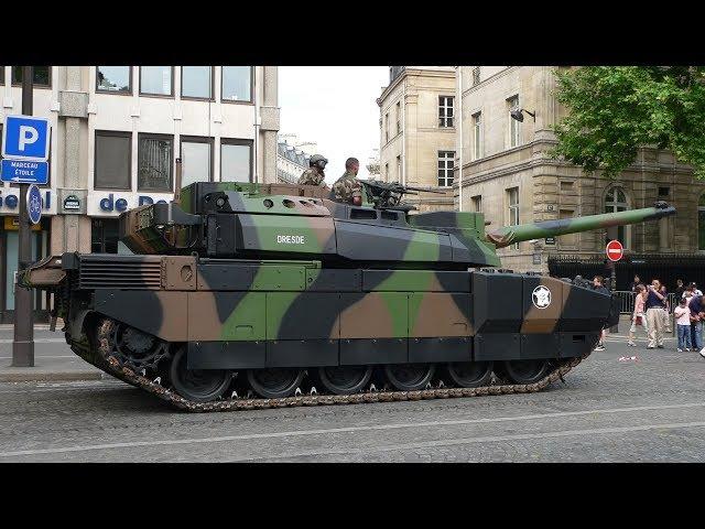 День взятия Бастилии парад во Франции и показ новых образцов техники 2017 года