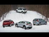 """""""Lexus NX, Volvo XC60, Evoque, Disco Sport  групповой тест"""" - видео с YouTube-канала """"DRIVE.RU"""""""