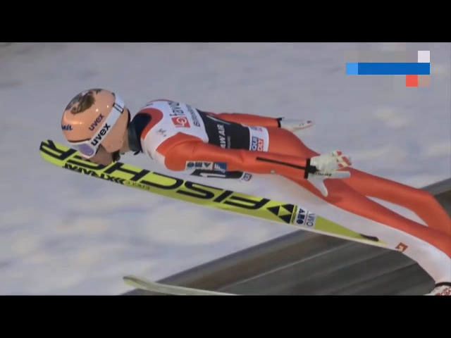 THE LONGEST SKI JUMP EVER 253.5 M STEFAN KRAFT WORLD RECORD VIKERSUND 2017