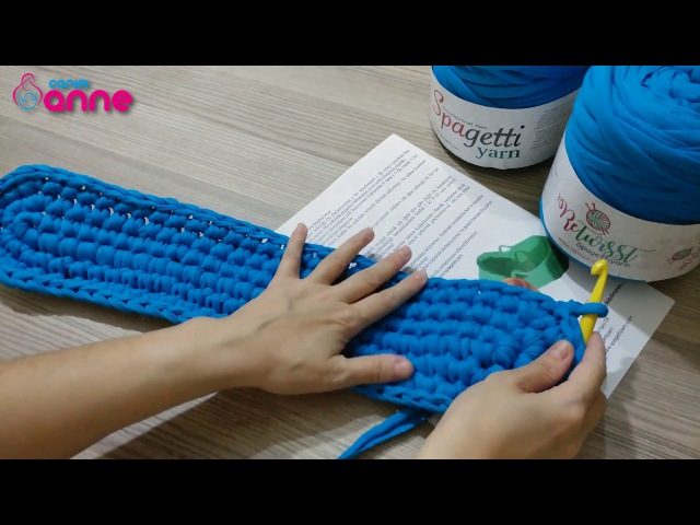 Penye İpten Puset Nasıl Yapılır | Eğitim Videosu