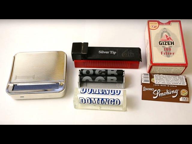 Машинка для самокруток (полуавтомат :) Cigarette Machines