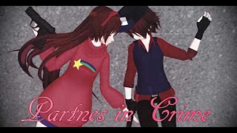 【MMD||Gravity Falls】 Partnes in Crime 【Mabel Pines and Dipper Pines】