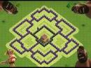 Clash Of Clans - TH8 Town Hall 8 Hybrid Base/ База тх8 для кубков и ресурсов