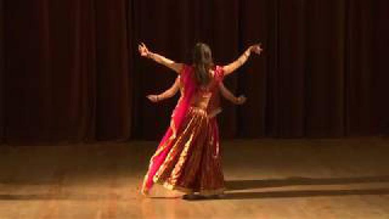 Дуэт индийский танец Aaja Aaja Mere Ranjhna