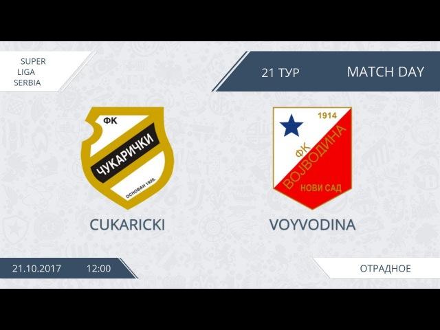 AFL17. Serbia. Super Liga. Day 21. Cukaricki - Voyvodina