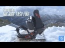 World's First Portable Snowboard Footrest: Ride Easy Line (IGG Vid)
