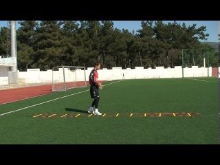 Football coaching video - soccer drill - ladder coordination (Brazil) 5