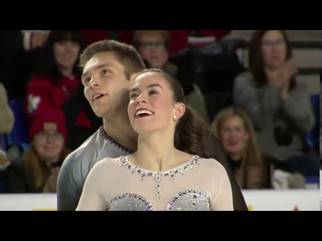 Evelyn WALSH Trennt MICHAUD Short Program Canadian Figure Skating Championships 2018