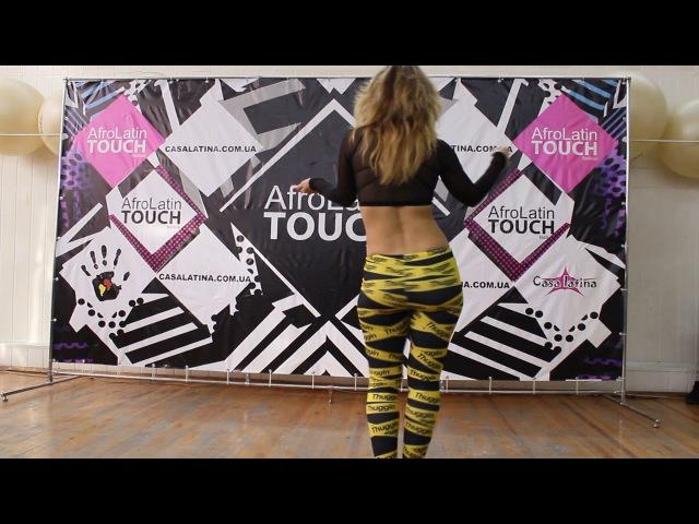 Kizomba Lady Style Oksana Sidorskaya. AfroLatin TOUCH 2017
