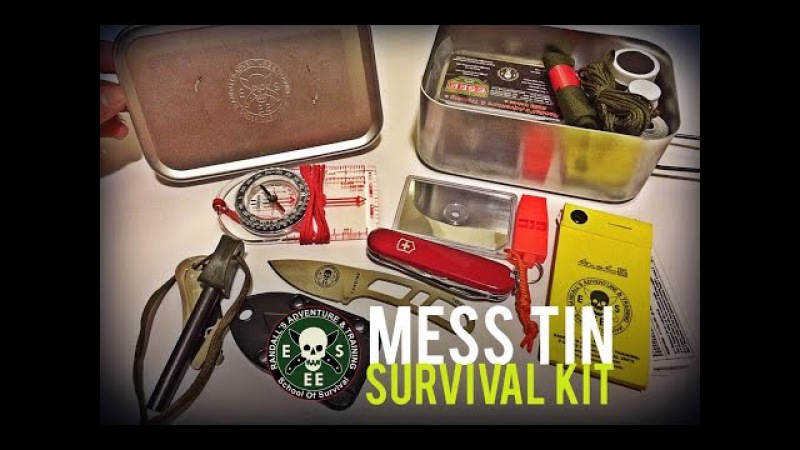 Black Scout Reviews: New ESEE Mess Tin Survival Kit