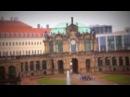 Дрезден, Цвингер. Вид с балкона Купальни нимф