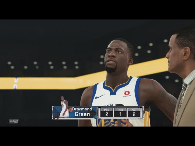 NBA 2K18 My Career 49 Clippers vs Warriors New Badge