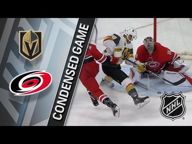 Vegas Golden Knights vs Carolina Hurricanes Jan 21 2018 Game Highlights NHL 2017 18 Обзор