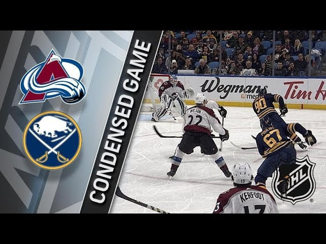 Colorado Avalanche vs Buffalo Sabres – Feb. 11, 2018 | Game Highlights | NHL 2017/18. Обзор
