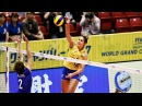 Top 15 BEST Volleyball Spikes by Natália Pereira Brazil | 2017 Women's World Grand Champions Cup