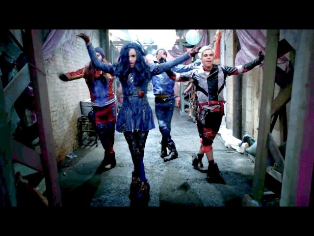 Proof the chillin' like a villain dance works with any song descendants 2