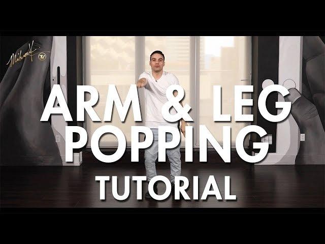How to Pop / Arm Leg Popping (Hip Hop Dance Moves Tutorial) | Mihran Kirakosian