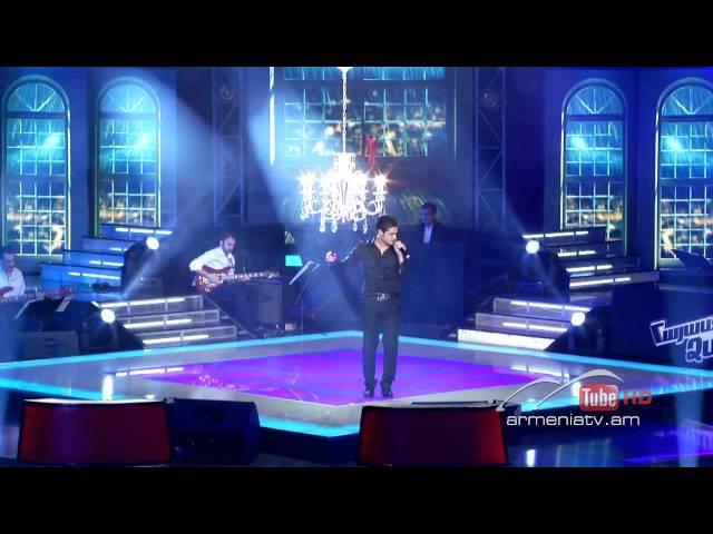 Gevorg Martirosyan, Y Si Fuera Ella - The Voice Of Armenia - Live Show 4 - Season 1