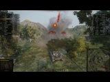 Хороший бой со стрима на AMX 13 105, Рудники, Встречный бой.