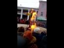 Сжигание чучела Масленицы. Гусь - Хрустальный