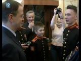 Омские кадеты записали интервью с Мединским для своего фильма