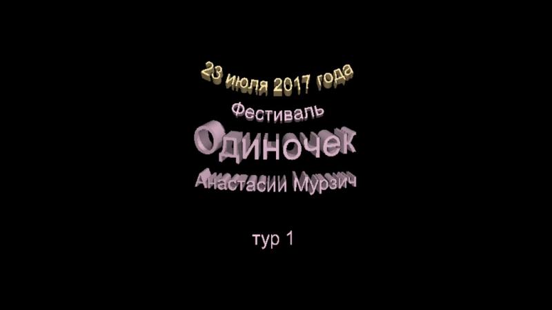 Анонс. Е.Чудинов на фестивале ОДИНОЧЕК Анастасии Мурзич 23 июля 2017 года в VinyllaSky