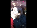 171208 Jeonyouls Instagram Live 01 feat HyoEun Fit Mobile Screen With Chat Version