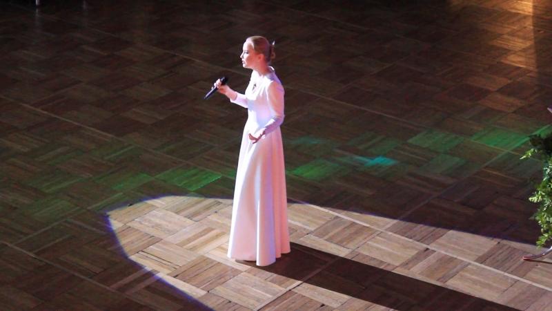 Анастасия Зубачева - Мне приснилось небо Лондона(Земфира)