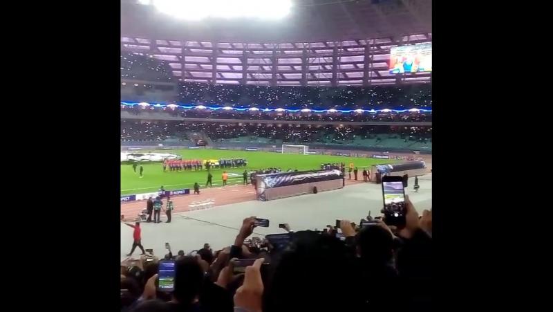 Баку.Лига чемпионов.Карабах-Атлетико