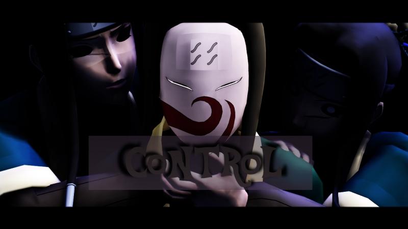 【MMD】Control【Haku. Naruto.】