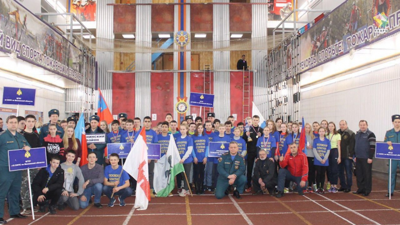 Подольчане выступят за сборную Подмосковья по пожарно-прикладному спорту.