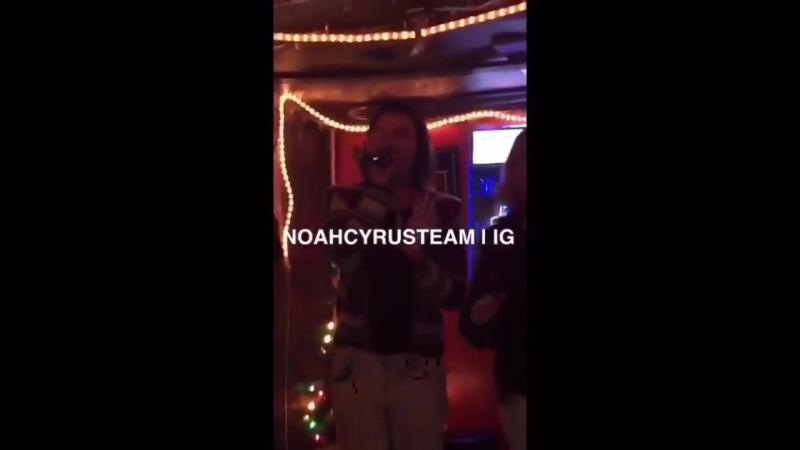 Noah Cyrus singing Love Game by Lady Gaga