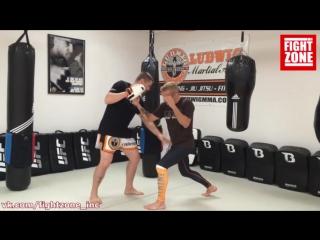 Обучалка от ТиДжея Диллашо (14) Как правильно бить апперкот задней рукой (перево