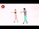 Смешной китайский танец.Китайская гимнастика.