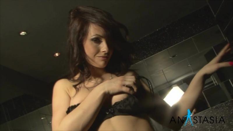 All natural tits - Anastasia Harris striptease 34