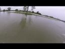 Дрон и вейкборды