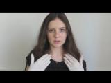 Anastasia ASMR - звуки перчаток, шепот, триггеры. ASMR latex gloves trigger, massage ear