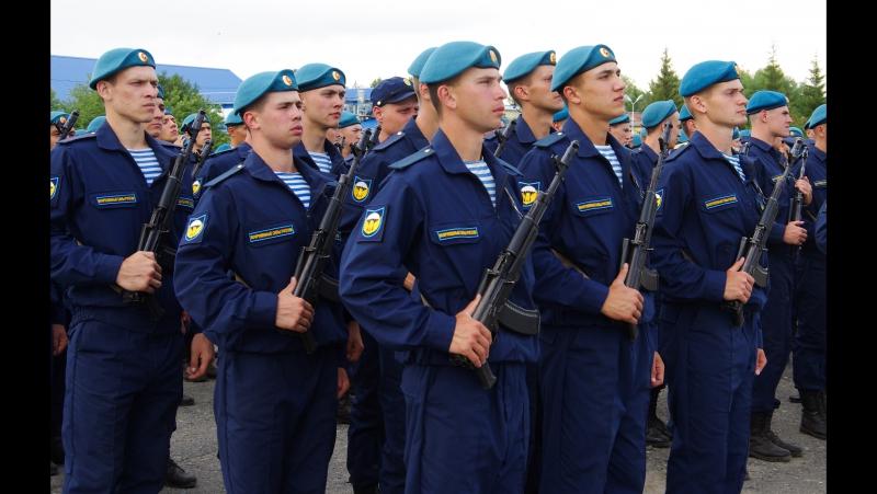 242 УЦ ВДВ п.Светлый, г.Омск-присяга 15 июля 2017