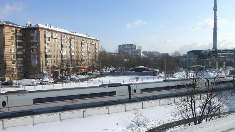 L1300063 Видео Сапсан 3 Москва 22 февраля 2018 года Володя