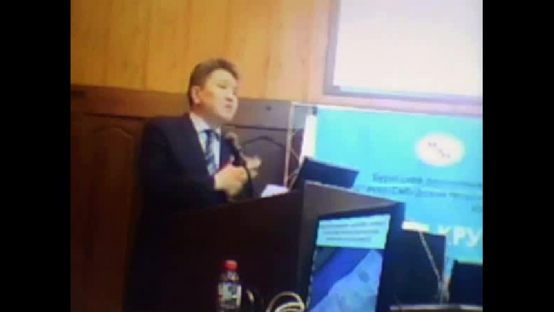 Фрагмент выступления д.ю.н.,проф. Ю.П. Гармаева по проблеме научного обеспечения противодействия коррупции