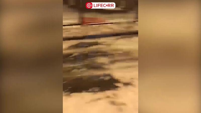В г Видное нетрезвый водитель протаранил 12 машин и врезался в забор