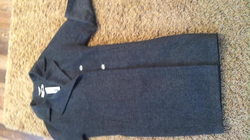 новое объёмное двубортное пальто кокон российской фирмы COME PRIMA , размер 44 (ОВЕРСАЙЗ можно на 42-46)